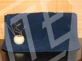 Koupelnová předložka ZX Capry - tm. modrá