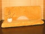 Koupelnová předložka ZX Capry - oranžová