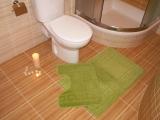 Koupelnová předložka ZELENÁ