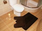 Koupelnová předložka TM. HNĚDÁ